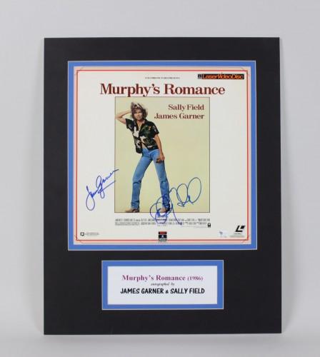 1986 James Garner & Sally Field Signed 12x12  Movie Photo Display (GAI)
