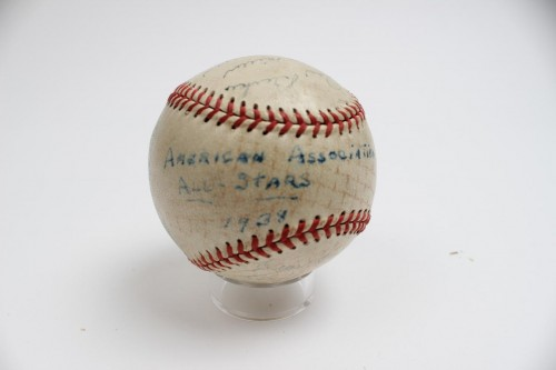 1938 American Association All-Star Team Signed Baseball (19 Signatures) Includes Vintage Ted Williams, Joost
