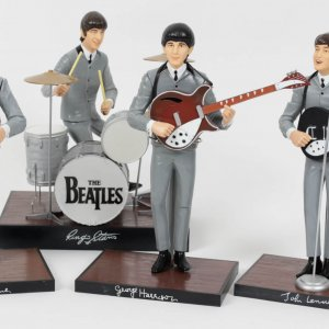 1991 The Beatles Apple Corps Hamilton Doll Set