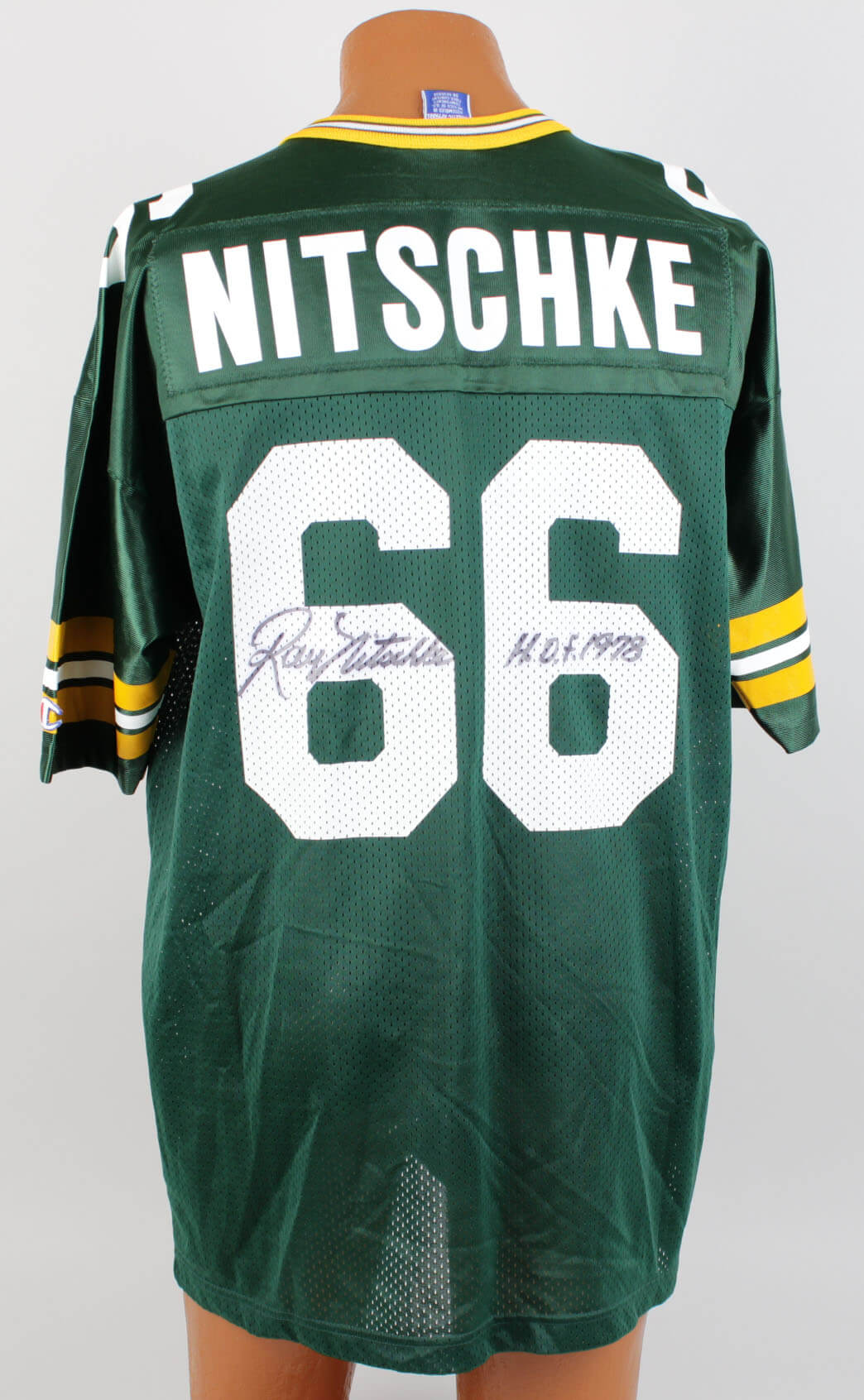buy online 44db1 c3e27 Green Bay Packers Ray Nitschke Signed Jersey