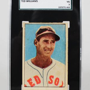 1952 Boston Red Sox Ted Williams Berk Ross Card (SGC)