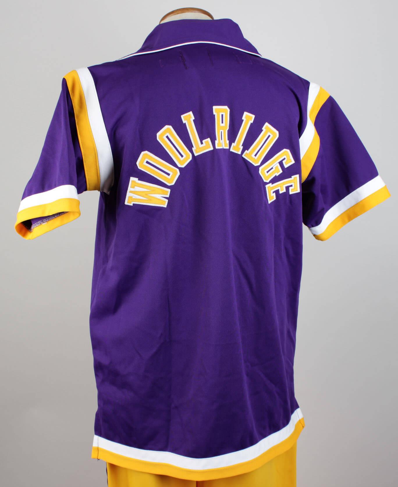 1988 Los Angeles Lakers Orlando Woolridge Game Worn Warm up Jacket