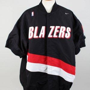 Portland Trail Blazers Kelvin Cato Game-Worn Warm-Up Jacket