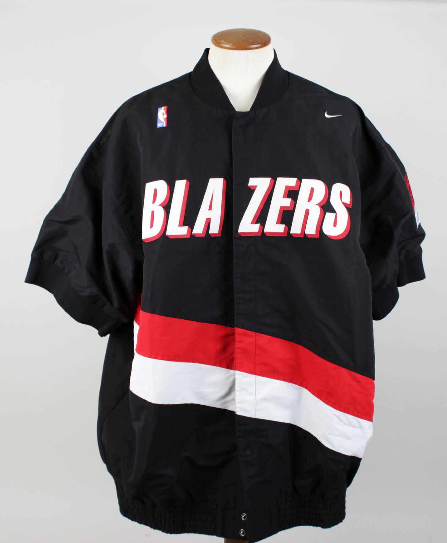 97-98 Portland Trail Blazers Kelvin Cato Game-Worn Warm-Up