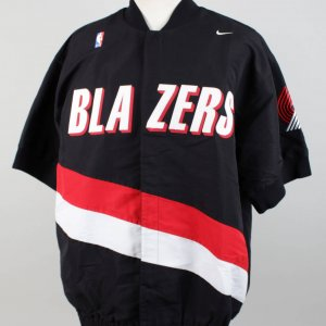 97-98 Portland Trail Blazers Gary Grant Game-Used Warm-Up Jacket