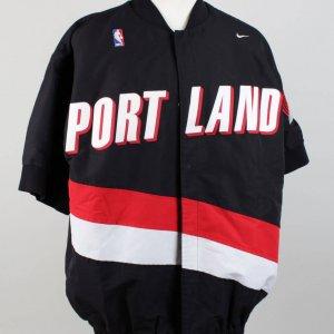 97-98 Portland Trail Blazers John Crotty Game-Used Warm-Up Jacket