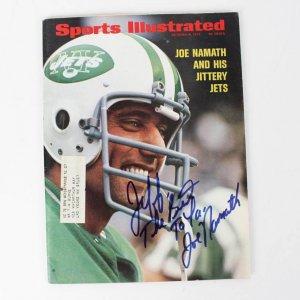 1972 NY Jets - Joe Namath Signed, Personalized Sports Illustrated Magazine - JSA