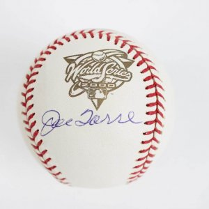 New York Yankees 2000 Joe Torre Signed WS Offical Baseball