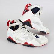 1992 Barcelona Summer Olympics Dream Team - Michael Jordan Signed Game-Worn Air Jordan Sneakers
