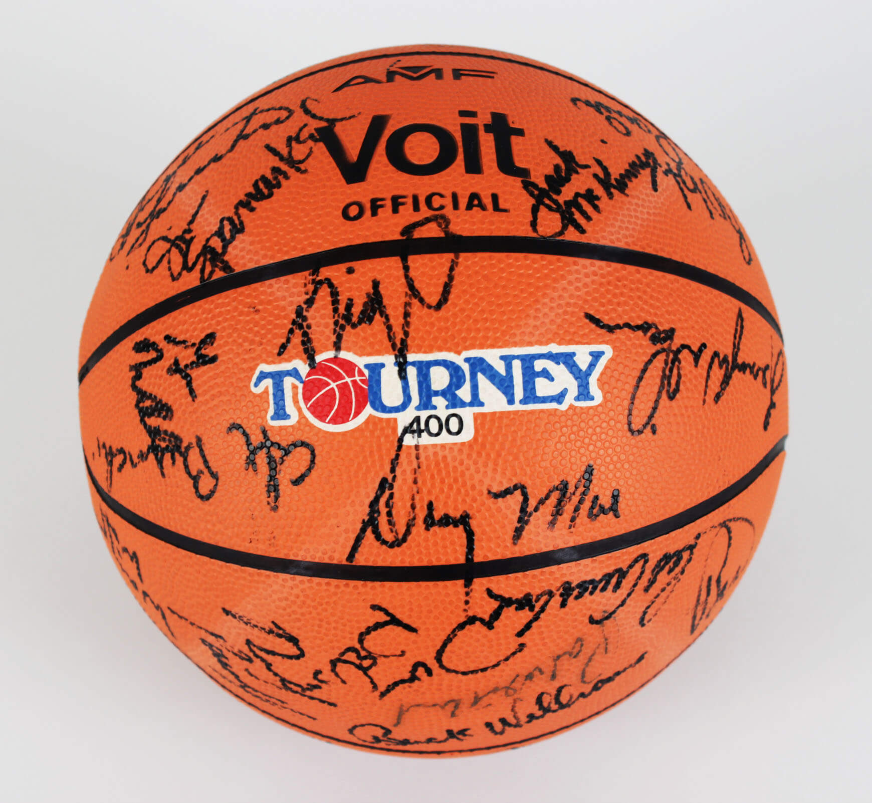 All Star Ball Signed – 41 Sigs. Red Auerbach, Julius Erving, Kareem Abdul-Jabbar & Others21887_01