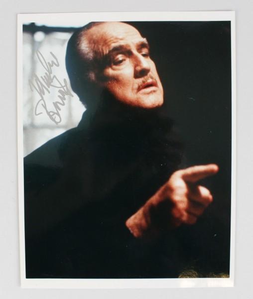 """""""The Godfather"""" Actor - Marlon Brando Signed 8x10 Photo (JSA Full LOA)"""