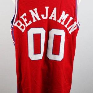 1990 Los Angeles Clippers Benoit Benjamin Game-Worn Jersey