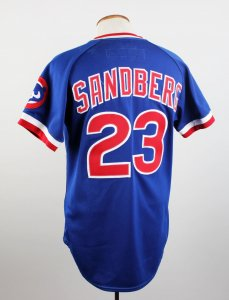 save off d091f 5fa62 Tag: sandberg game used jersey | Memorabilia Expert