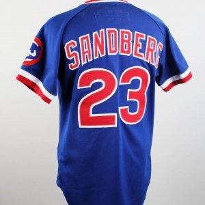 1984 Chicago Cubs Ryan Sandberg Game-Worn Jersey