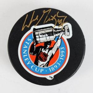 Edmonton Oilers Wayne Gretzky Signed Puck