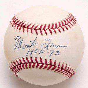 "Giants - Monte Irvin Signed, Inscribed ""HOF - 73"" ONL (Coleman) Baseball"