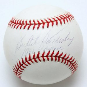 NY Yankees - Bob Turley Signed & Inscribed Baseball - COA PSA/DNA