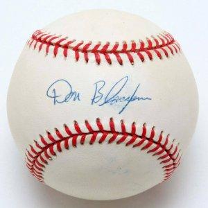 Cardinals - Senators - Don Blasingame Signed Baseball (PSA/DNA Sticker)