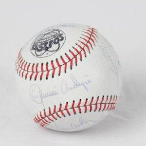 1980 Houston Astros NL West Champions Team-Signed Baseball - COA