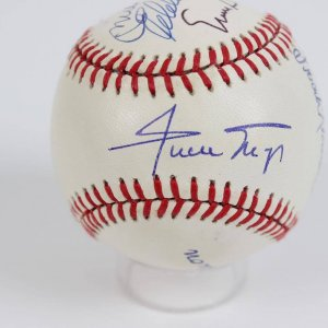 500 Home Run Club Multi-Signed By 7 Members ONL Baseball (Mantle, Mays Aaron)