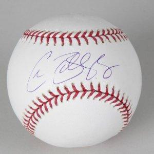 LA Dodgers - Chad Billingsley Signed OML Baseball -COA PSA/DNA