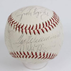 1962 Boston Red Sox Team-Signed OAL (Cronin) Baseball Ted Williams, Pete Runnels, Carl Yastrzemski etc.
