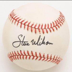 Steve Wilson Single-Signed Ball