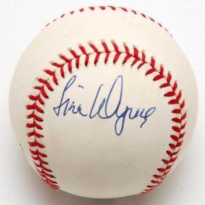 Jim Wynn Signed ONL (White) Rawlings Baseball