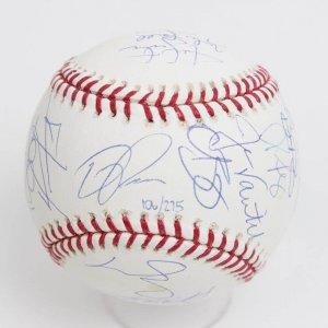 2007 Boston Red Sox Team-Signed World Series OML (Selig ) Rawlings Baesball (LE 106/275) (Steiner & MLB)