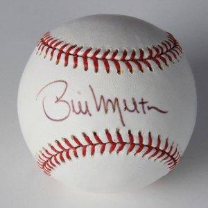 2005 World Series White Sox - Bill Melton Signed Official Baseball