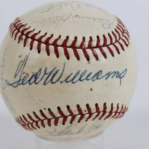 1970 Washington Senators Spring Training Team-Signed Baseball 21 Autographs (JSA)