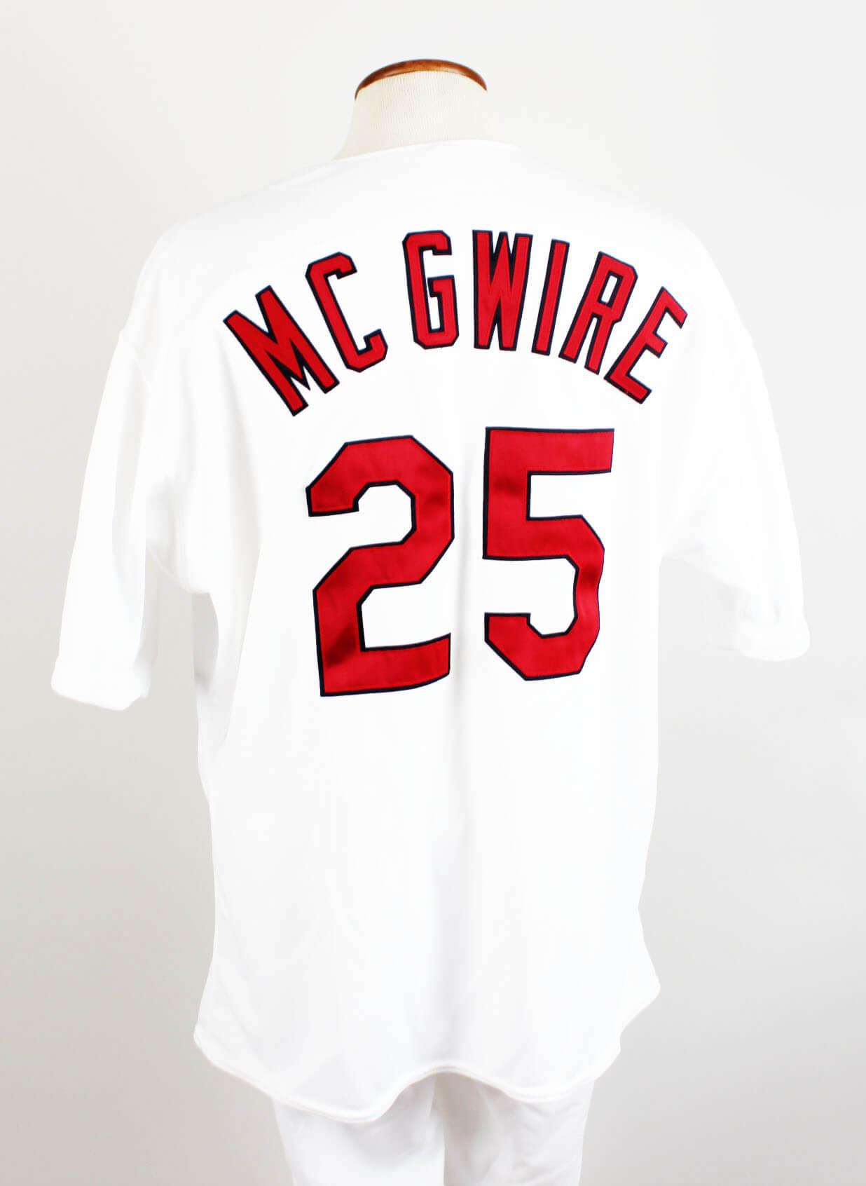 official photos 0e8af 0bc9a 1999 St. Louis Cardinals – Mark McGwire Game-Worn Uniform (Jersey & Pants)  | Memorabilia Expert