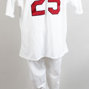 1999 St. Louis Cardinals - Mark McGwire Game-Worn Uniform (Jersey & Pants)