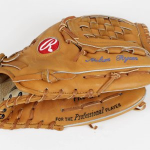 1993 Texas Rangers - Nolan Ryan Game-Worn Glove (PSA/DNA Glove LOA)