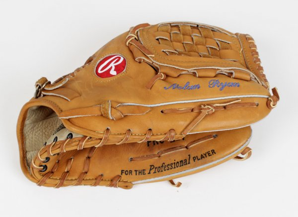 1993 Texas Rangers Nolan Ryan Game-Used Glove
