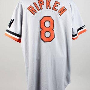 1988 Baltimore Orioles Cal Ripken Jr. Game-Worn Road Jersey