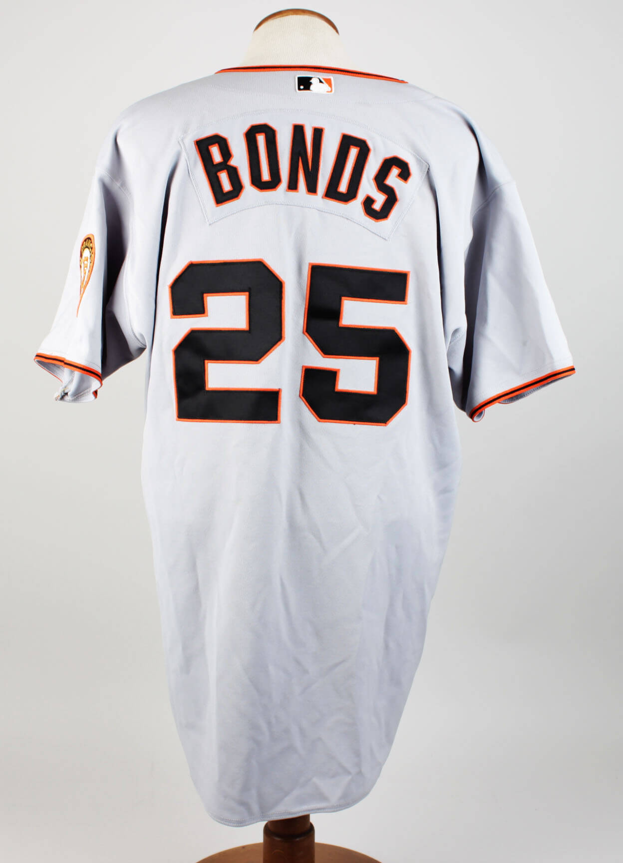 Early 2000s San Francisco Giants Barry Bonds Game-Used Road Jersey (COA Bonds Authenticated) & 100% Team
