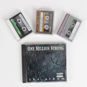 One Million Strong Cd & Lot of 3 Digital Audio Tapes