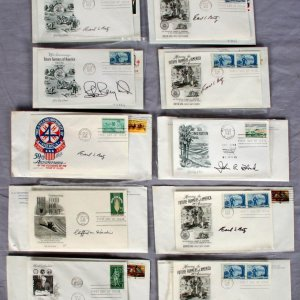 10 Secretary Of Agriculture Signed USA First Day Covers