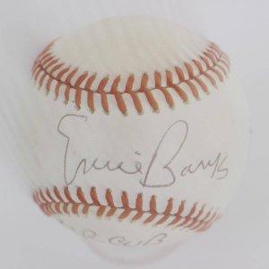 "Chicago Cubs - Ernie Banks Signed, Inscribed ""Mr. Cub"" Giamatti Baseball (holo 7447)"