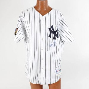 "1994 New York Yankees - Wade Boggs Game-Worn,Signed & Inscribed ""Game Used 94"" Home Jersey (feat. 125th Anniversary Patch)"