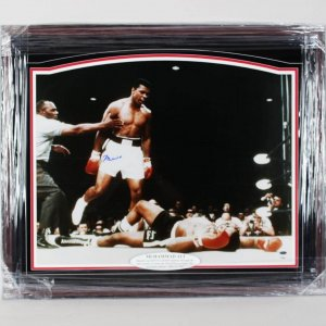 Muhammad Ali Signed Color 30 X 24 Photo Display