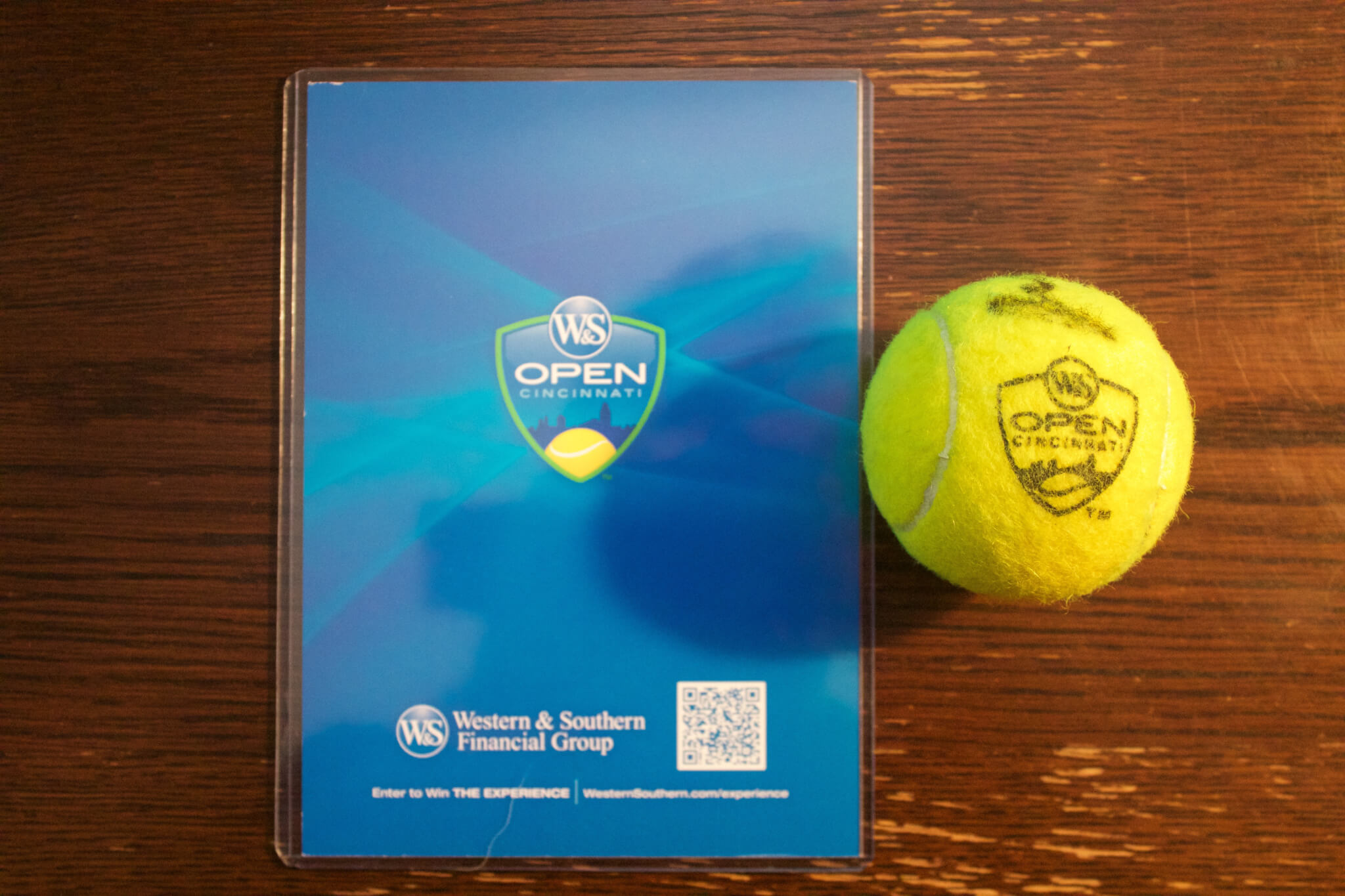 An Andy Murray Game-Used   Signed Match Ball. 2015 ATP Western   Southern  Open. 870d7726e