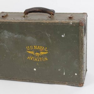 Ted William's Personal Pilots U.S. Navy Aviation Brief Case