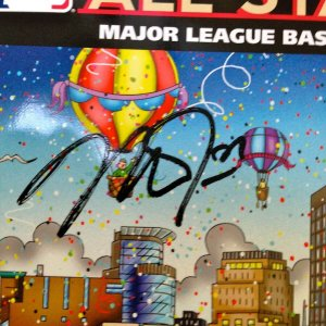 Mike Trout SIGNED Limited Edition 2014 All Star Game MLB HOLO