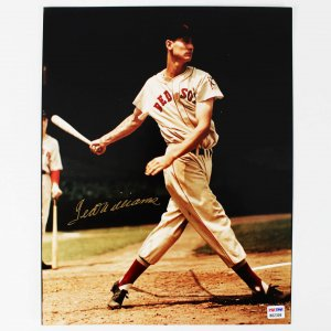 Boston Red Sox Ted Williams Signed Sports Illustrated Cover 11x14 Rare Print