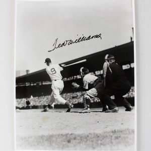 Boston Red Sox Ted Williams Signed 11x14 Photo