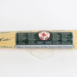 1967 Red Sox Reunion Cooperstown Bat - 26 Signatures