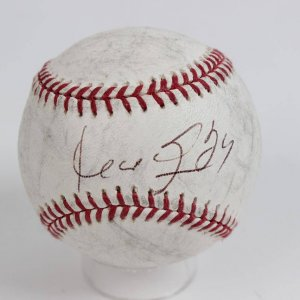 2005 Boston Red Sox Game Used OML (Selig) Baseball Signed by Manny Ramirez & Inscribed (24)