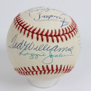 500 Home Run Club Multi-Signed ONL (White) Baseball 11 Autographs Incl. Mickey Mantle